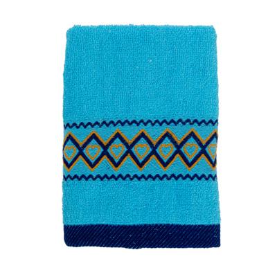 484-023 VETTA Полотенце махровое, 100% хлопок, 35x70см, Spain, голубое