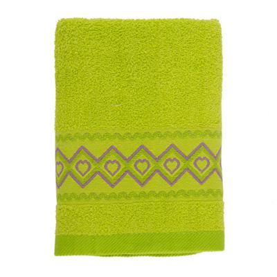 484-028 VETTA Полотенце махровое, 100% хлопок, 50x90см, Spain зелёное