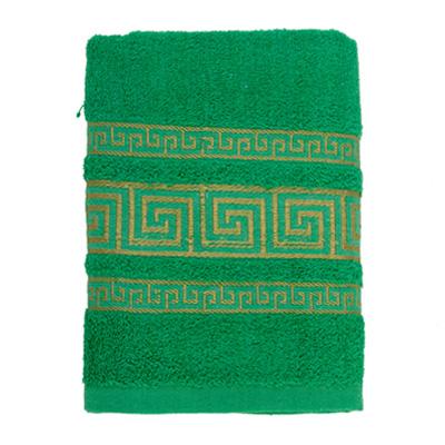 484-035 VETTA Полотенце махровое, 100% хлопок, 50x90см, Greece зелёное