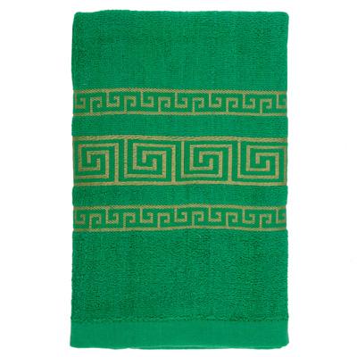 484-039 VETTA Полотенце махровое, 100% хлопок, 60x130см, Greeceзелёное