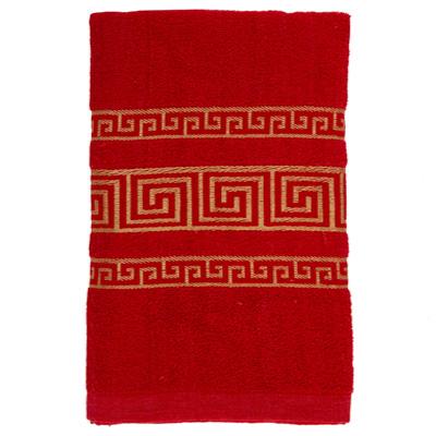 484-040 VETTA Полотенце махровое, 100% хлопок, 60x130см, Greeceкрасное