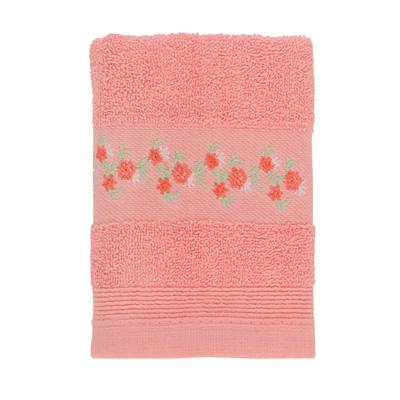 484-043 VETTA Полотенце махровое, 100% хлопок, 35x70см, Slovenia, розовое