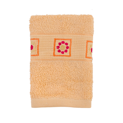 484-049 VETTA Полотенце махровое, 100% хлопок, 35x70см, Tunisia, розовое