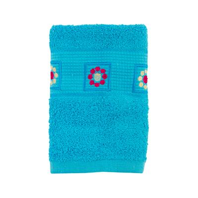 484-052 VETTA Полотенце махровое, 100% хлопок, 35x70см, Tunisia, голубое
