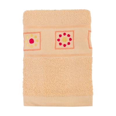 484-053 VETTA Полотенце махровое, 100% хлопок, 50x90см, Tunisia розовое