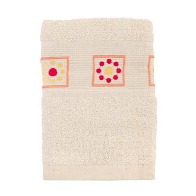 484-055 VETTA Полотенце махровое, 100% хлопок, 50x90см, Tunisia белое