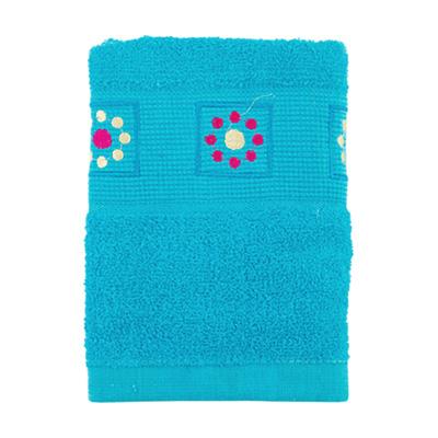 484-056 VETTA Полотенце махровое, 100% хлопок, 50x90см, Tunisia голубое