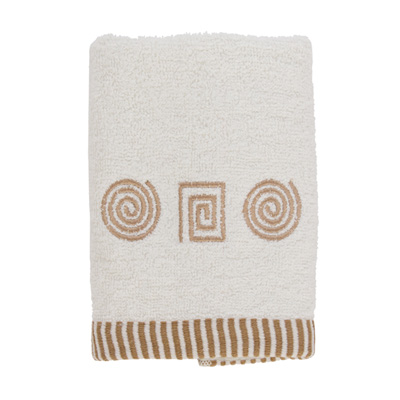 484-071 VETTA Полотенце махровое, 100% хлопок, 35х70см, Egypt белое