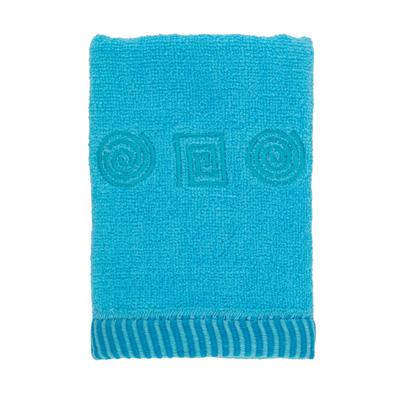 484-072 VETTA Полотенце махровое, 100% хлопок, 35x70см, Egypt, голубое