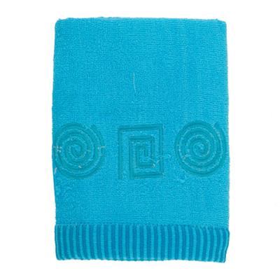 484-076 VETTA Полотенце махровое, 100% хлопок, 50x90см, Egypt голубое