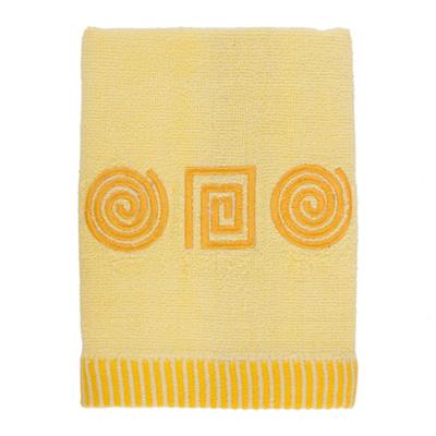 484-077 VETTA Полотенце махровое, 100% хлопок, 50x90см, Egypt жёлтое
