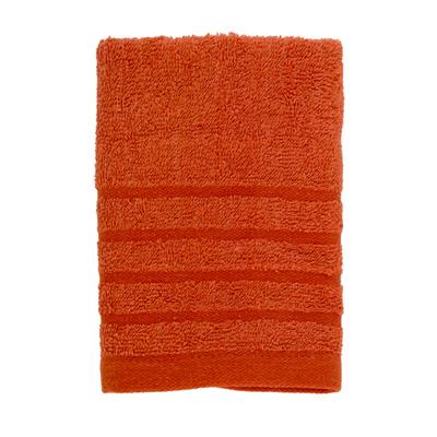 484-078 VETTA Полотенце махровое, 100% хлопок, 35x70см, Romania, коричневое