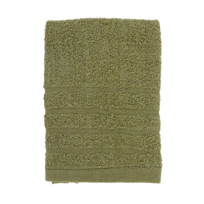 484-080 VETTA Полотенце махровое, 100% хлопок, 35x70см, Romania, зелёное