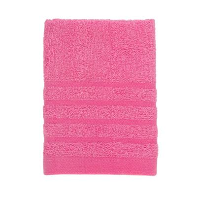 484-081 VETTA Полотенце махровое, 100% хлопок, 35x70см, Romania, розовое