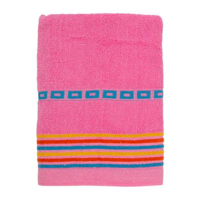 484-086 VETTA Полотенце махровое, 100% хлопок, 50x90см, Sicilia розовое