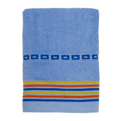 484-087 VETTA Полотенце махровое, 100% хлопок, 50x90см, Sicilia голубое