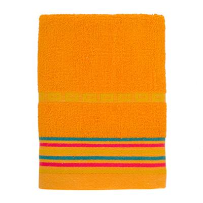 484-088 VETTA Полотенце махровое, 100% хлопок, 50x90см, Sicilia оранжевое