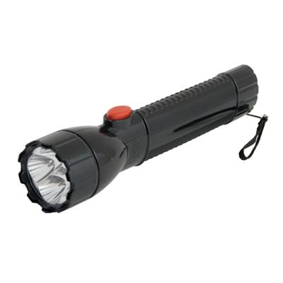 328-140 Фонарик пластик со светодиодами GE-2288 4 LED 3хAA