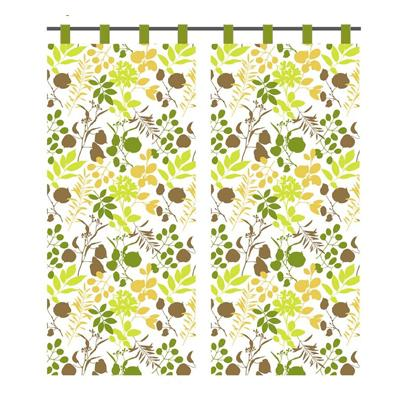 439-080 VETTA Kitchen шторы на окно (2 полотна) 0,75х170см PE OLIVA