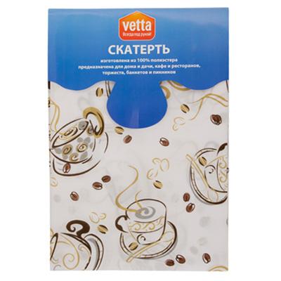 439-091 VETTA Kitchen скатерть 140х150см PE COFFEE