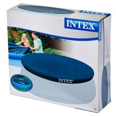 359-432 INTEX Крышка для круглого бассейна с надувными бортами, 366см, 58919/28022