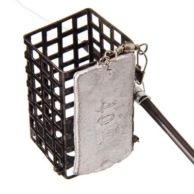 338-063 AZOR Снасть фидерная оснащенная, металл, пластик, кормушка 40 гр