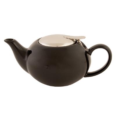 816-080 VETTA Бау Чайник заварочный черный керамика 500 мл