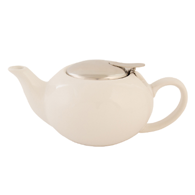 816-084 VETTA Энлиль Чайник заварочный, керамика, 500мл, белый