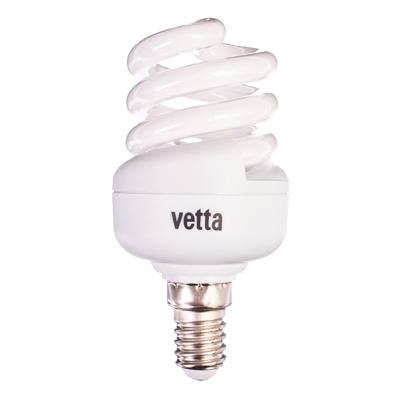 925-376 VETTA Лампа энергосберегающая E14 11W 2700K полн. спираль, трубка Т2