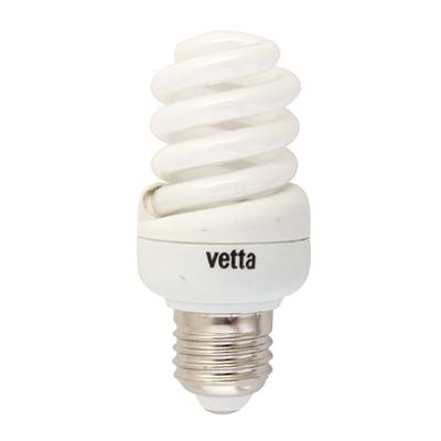 925-382 VETTA Лампа энергосберегающая E27 15W 4100K полн. спираль, трубка Т2