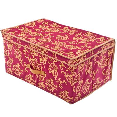"""457-041 VETTA Кофр-короб жесткий, нетканый материал, """"Английский стиль"""", 60х40х30см"""