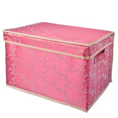 """457-049 VETTA Кофр-короб жесткий влагонепроницаемый, нетканый материал, """"Узоры"""", 40х30х25см"""