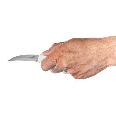 871-175 Нож для овощей 8см, белая ручка, Tramontina Athus, 23079/083