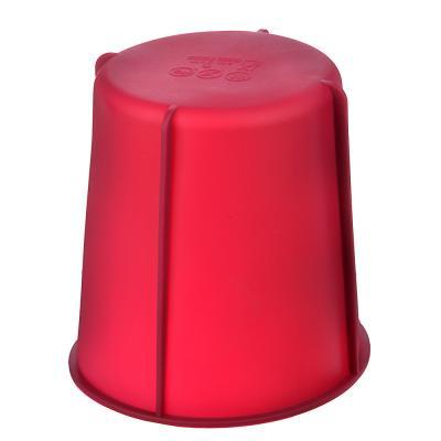 891-072 VETTA Форма силиконовая для кекса 14x15см, 3 цвета, 11HS071G