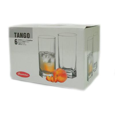 818-759 PASABAHCE Набор стаканов 6шт, 290мл Танго 42942