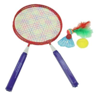 341-143 Бадминтон набор малый 2 ракетки, мяч и волан, 9559