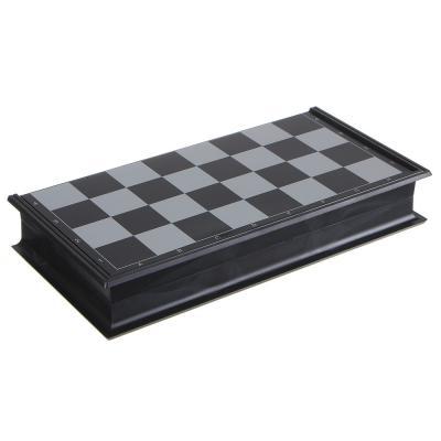 341-155 Набор игр 3 в 1 (магнитные шашки, шахматы и нарды) 24х24см, пластик, металл, SC56810