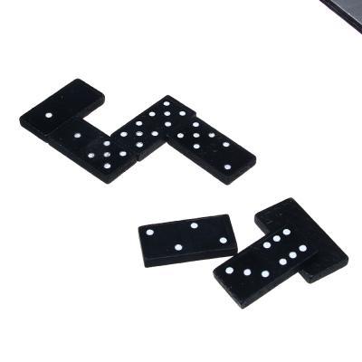 341-157 Домино из твердых пород дерева, в картонной коробке 21х5см, ТО280А
