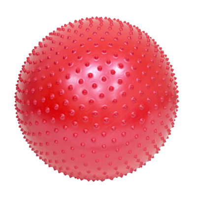 342-203 Мяч для фитнеса массажный, ПВХ, 65см, 4 цвета