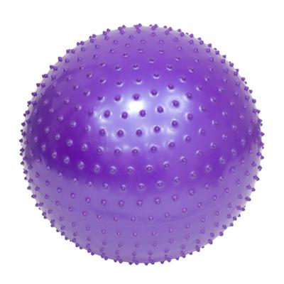 342-204 Мяч для фитнеса массажный, ПВХ, 75см, 4 цвета