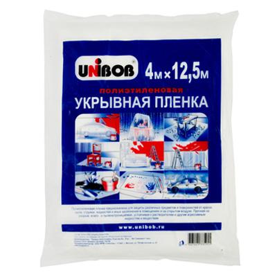 669-300 UNIBOB Пленка укрывная 4 х 12,5м, 8 мкм, арт.40187/69623