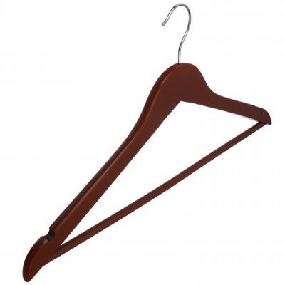 455-025 VETTA Вешалка деревянная 45см, цвет венге