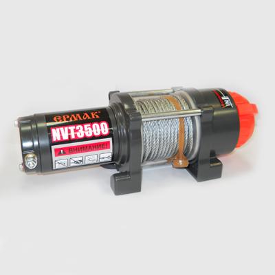 Лебедка электрическая NVT3500, 1588кг, 12v