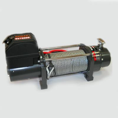 ЕРМАК Лебедка электрическая NVT6000, 2720кг, 12v