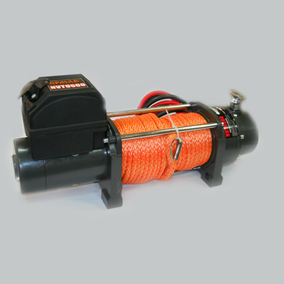 ЕРМАК Лебедка электрическая NVT9500, 4309кг, 12v кевларовый трос