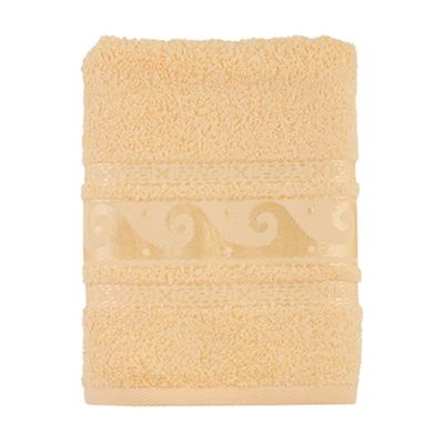 484-104 Полотенце махровое, 100% хлопок, 50x90см, Cleanelly, крем