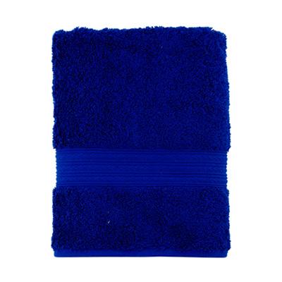 """484-132 Полотенце махровое, 100% хлопок, 50x100см, """"ДМ Люкс"""" Радуга, синий"""