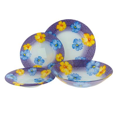 818-800 VETTA Мариз Набор столовой посуды 19 пр. стекло S3000/19-E120