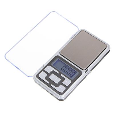 487-016 Весы портативные электрон., ЖК-дисплей, макс.нагр. до 500гр, (погрешность 0.1 гр.) 2xААА, 12x6см