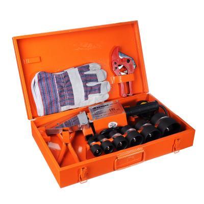 646-219 ЕРМАК Аппарат для сварки пласт. труб АСП-1700,1700 вт, 0-300 C, 6 насадок, 20-63 мм, метал кейс